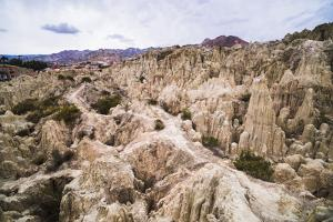 Valle De La Luna (Valley of the Moon), La Paz, La Paz Department, Bolivia, South America by Matthew Williams-Ellis