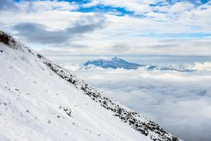 Volcanoes of Illiniza Norte, Cotopaxi Province by Matthew Williams-Ellis