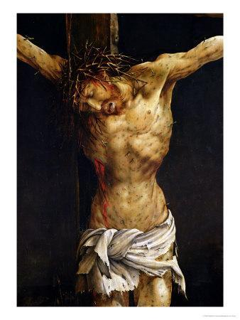Christ on the Cross, Detail from the Central Crucifixion Panel of the Isenheim Altarpiece