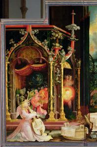 Concert of Angels from the Isenheim Altarpiece, circa 1512-16 by Matthias Grünewald