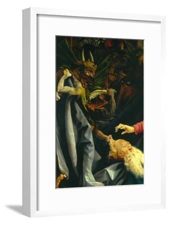 Demons Pulling St. Anthony's Hair, the Temptation of St. Anthony, Isenheim Altarpiece, c.1512-16
