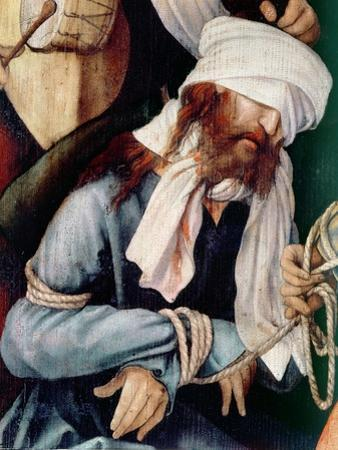 Detail of the Mocking of Christ by Matthias Grünewald