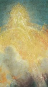 God the Father from the Isenheim Altarpiece, Detail from the Virgin and Child with Angels by Matthias Grünewald