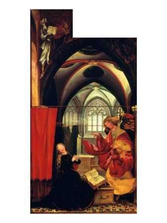 Isenheim Altar: Annunciation