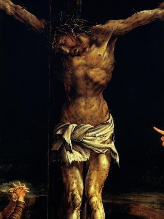 Isenheim Altar: Crucifixion, detail
