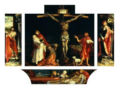 Isenheim Altar: Crucifixion