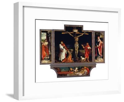 Isenheimer Altar. Erste Schauseite, Totale: die Hll.Antonius Und Sebastian