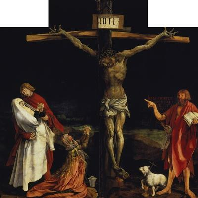 Isenheimer Altar. First Right Side, Centre Panel: Crucifixion