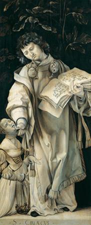 Panel of the Heller Altar Depicting St. Cyriacus by Matthias Grünewald