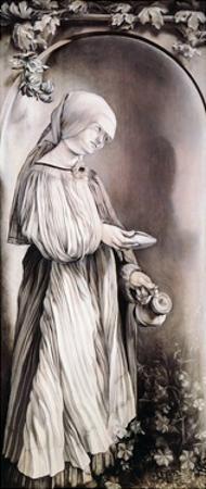 St Elizabeth, 1509-1511 by Matthias Grünewald