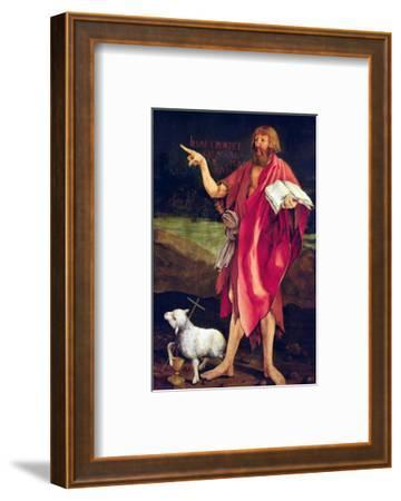 St. John the Baptist from the Isenheim Altarpiece, circa 1512-16