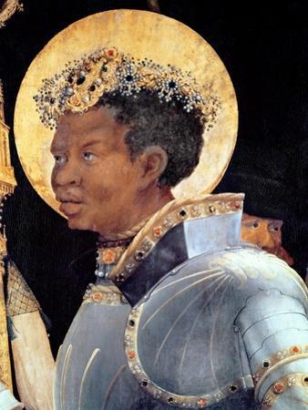St. Maurice (Detail) by Matthias Grünewald