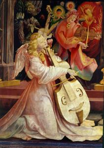 The Concert of Angels, from the Isenheim Altarpiece, c.1512-16 by Matthias Grünewald