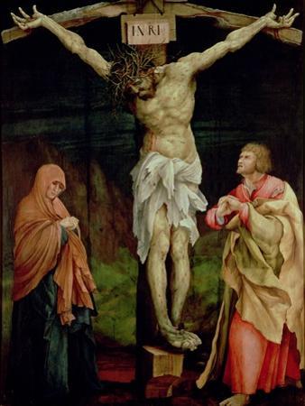 The Crucifixion, c.1525 by Matthias Grünewald