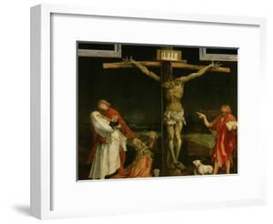 The Crucifixion, from the Isenheim Altarpiece, circa 1512-15 by Matthias Grünewald