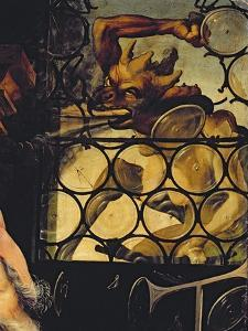 The Devil Attacking the Window, Detail from St. Anthony the Hermit from the Isenheim Altarpiece by Matthias Grünewald