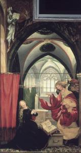 The Isenheim Altarpiece, Annunciation by Matthias Grünewald