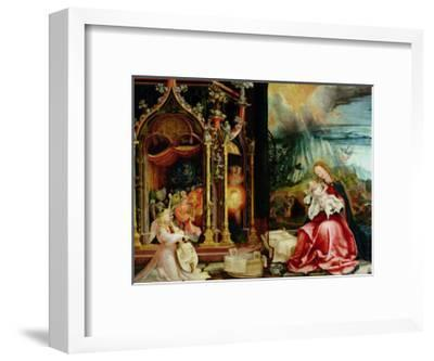 The Isenheim Altarpiece, Central Panel: Concert of Angels and Nativity, 1506-1515