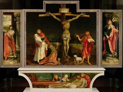 The Isenheim Altarpiece, circa 1512-15 by Matthias Grünewald