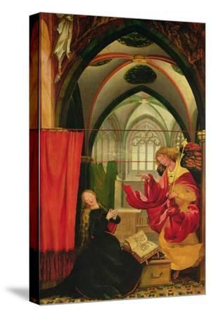 The Isenheim Altarpiece, Left Wing: Annunciation