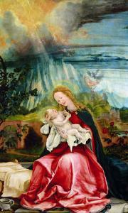 The Nativity, from the Isenheim Altarpiece, circa 1512-16 by Matthias Grünewald