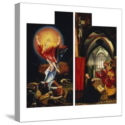 The Resurrection of Christ andAnnunciation. fromLeft and Right Wing ofIsenheim Altarpiece