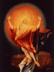 The Resurrection of Christ, from the Isenheim Altarpiece, C.1515 (Detail) by Matthias Grünewald