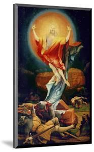 The Resurrection of Christ, from the Isenheim Altarpiece circa 1512-16 by Matthias Grünewald