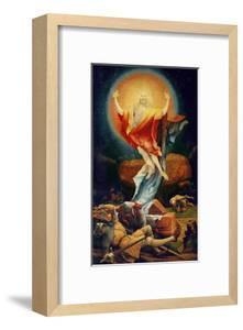 The Resurrection of Christ, from the Isenheim Altarpiece circa 1512-16 by Matthias Grünewald