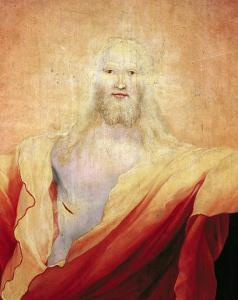 The Resurrection of Christ, from the Right Wing of the Isenheim Altarpiece, circa 1512-16 by Matthias Grünewald