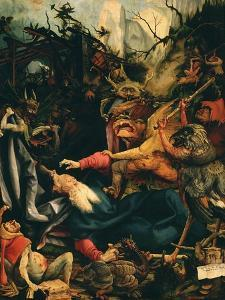 The Temptation of Saint Anthony, from the Isenheim Altarpiece, C.1515 (Detail) by Matthias Grünewald