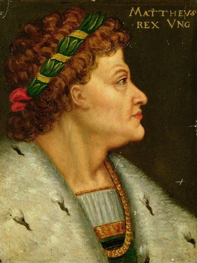 Matthias I, Hunyadi (1440-90) King of Hungary Also Known as Matthias Corvinus, Son of Janos Hunyadi--Giclee Print