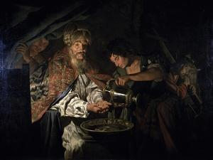 Pilate Washing His Hands by Matthias Stom