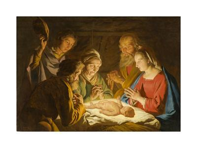 The Adoration of the Shepherds, c.1635-1637