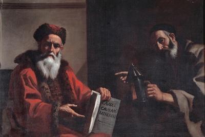Diogenes and Plato, 1649