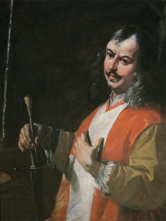 Self Portrait, from 'St John the Baptist Preaching'
