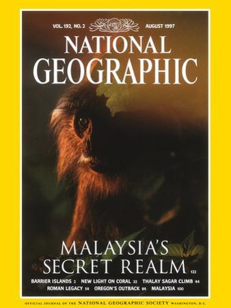 Cover of the August, 1997 National Geographic Magazine