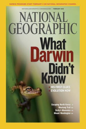 Cover of the February, 2009 National Geographic Magazine
