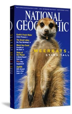 Cover of the September, 2002 National Geographic Magazine