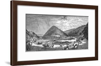 Mauch Chunk Pa--Framed Giclee Print