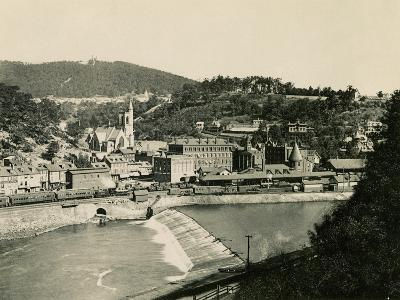 Mauch Chunk, Pennsylvania (Now named Jim Thorpe PA), in the Lehigh Valley, 1890s--Giclee Print