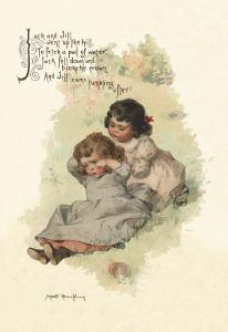 Jack and Jill by Maud Humphrey