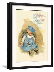 Little Boy Blue by Maud Humphrey