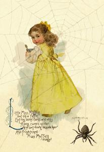 Little Miss Muffett by Maud Humphrey