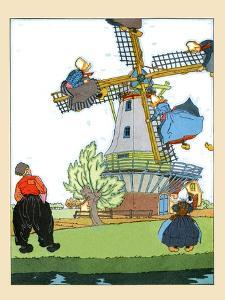 Riding The Windmill's Vanes by Maud & Miska Petersham