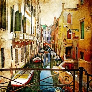 Amazing Venice -Artwork In Painting Style by Maugli-l
