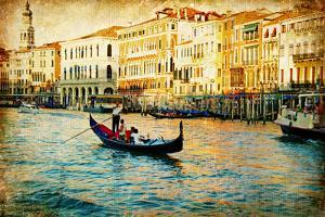 Amazing Venice - Artwork In Painting Style by Maugli-l