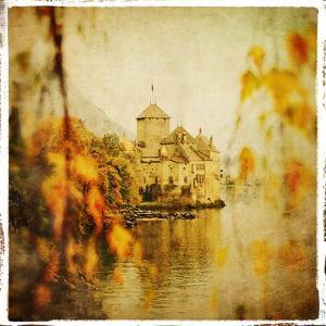 Autumn Castle - Artistic Retro Styled Picture by Maugli-l