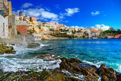 Beautiful Greek Islands Series - Syros by Maugli-l