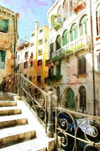 Beautiful Venetian Pictures - Oil Painting Style by Maugli-l